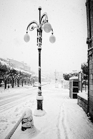 Triventinamente Le Foto Trivento La Neve Il Bianco E Il Nero L